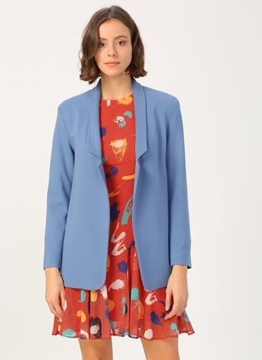 Random Ceket Mavi